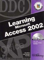 Learning Microsoft Access 2002
