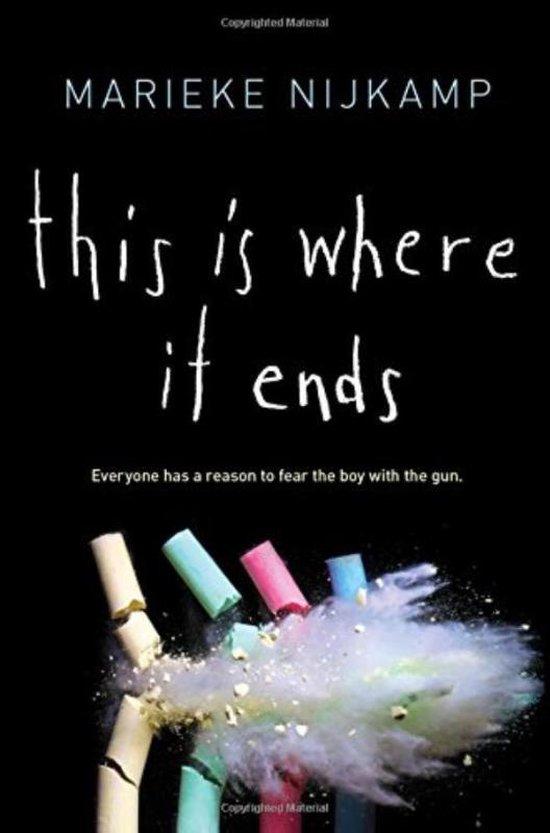 Boek cover This Is Where It Ends van Marieke Nijkamp (Hardcover)