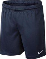 Nike Youth Park II Knit Nb Sportshort Kinderen - Midnight Navy/White- Maat XL