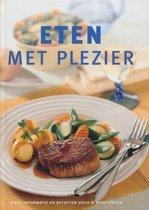 Boek cover Eten met plezier van Stoeltie Spyker