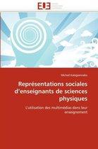 Repr�sentations Sociales d''enseignants de Sciences Physiques