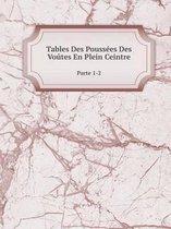 Tables Des Pouss es Des Vo tes En Plein Ceintre Parte 1-2