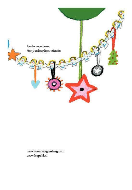 Cover van het boek 'Hartje is een ster' van Yvonne Jagtenberg en Yvonne Jagtenberg