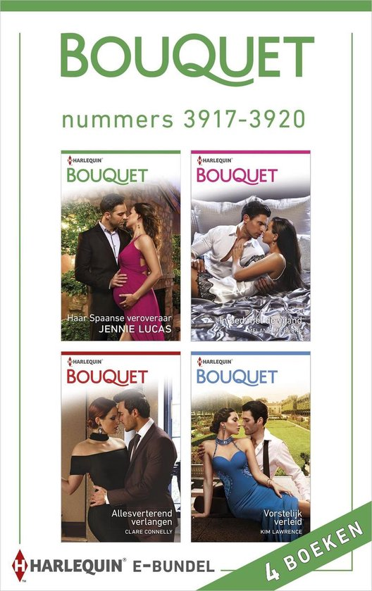 Bouquet e-bundel nummers 3917 - 3920 (4-in-1) - Jennie Lucas |