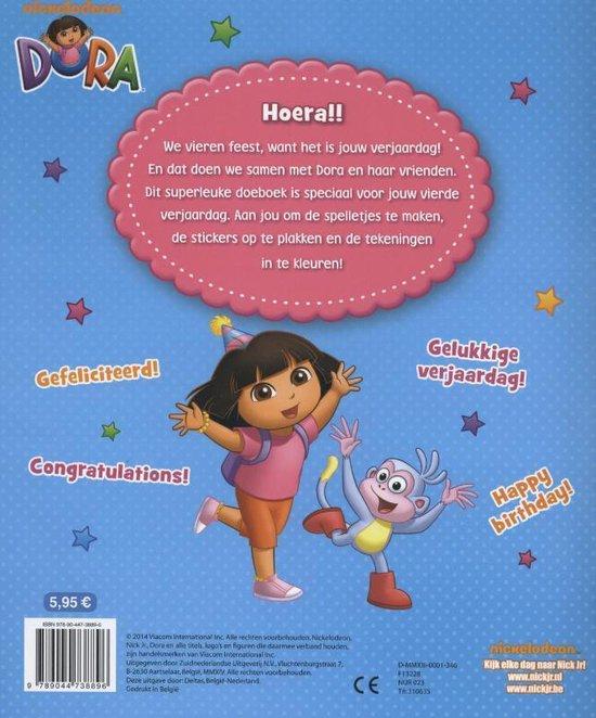 Dora - Hoera, je bent 4 jaar!