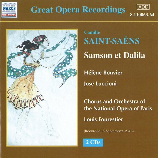 Historical - Great Opera Recordings - Saint-Saens: Samson