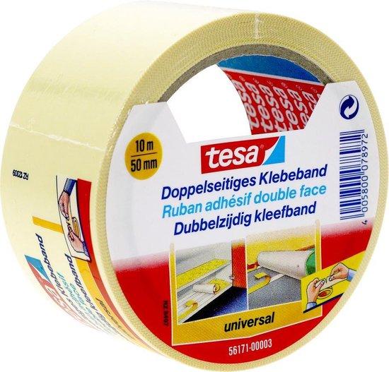 Tesa Dubbelzijdig Plakband - 50 mm x 10 m