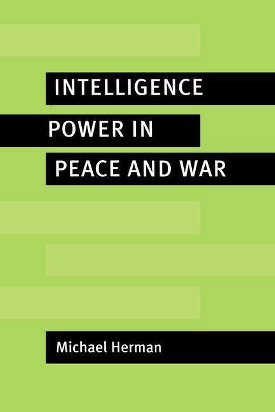 Boek cover Intelligence Power in Peace and War van Michael Herman (Onbekend)