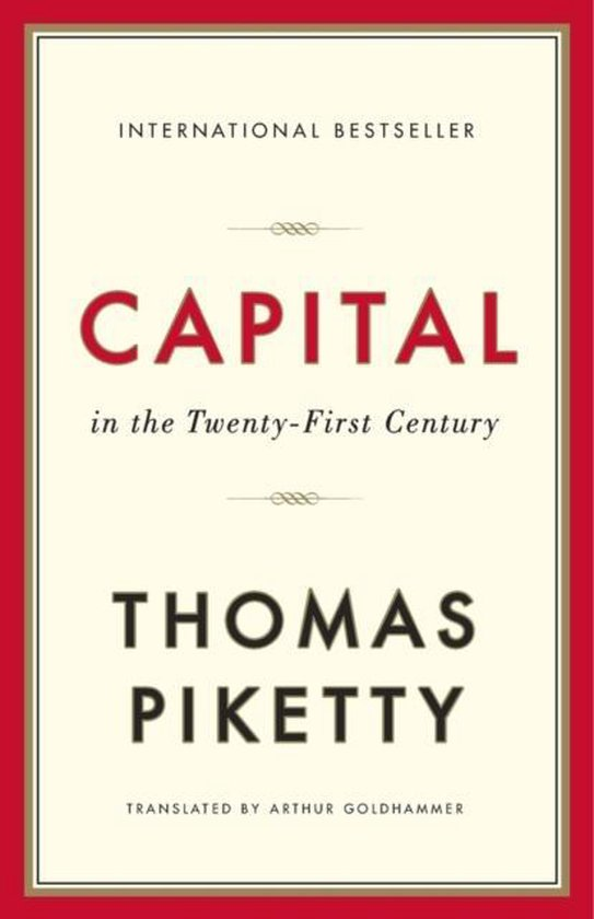 Boek cover Capital in the Twenty-First Century van Thomas Piketty (Paperback)