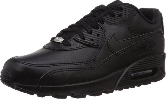 Nike Air Max 90 Leather Zwart Peuters om te zoenen