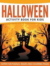 Halloween Activity Book For Kids