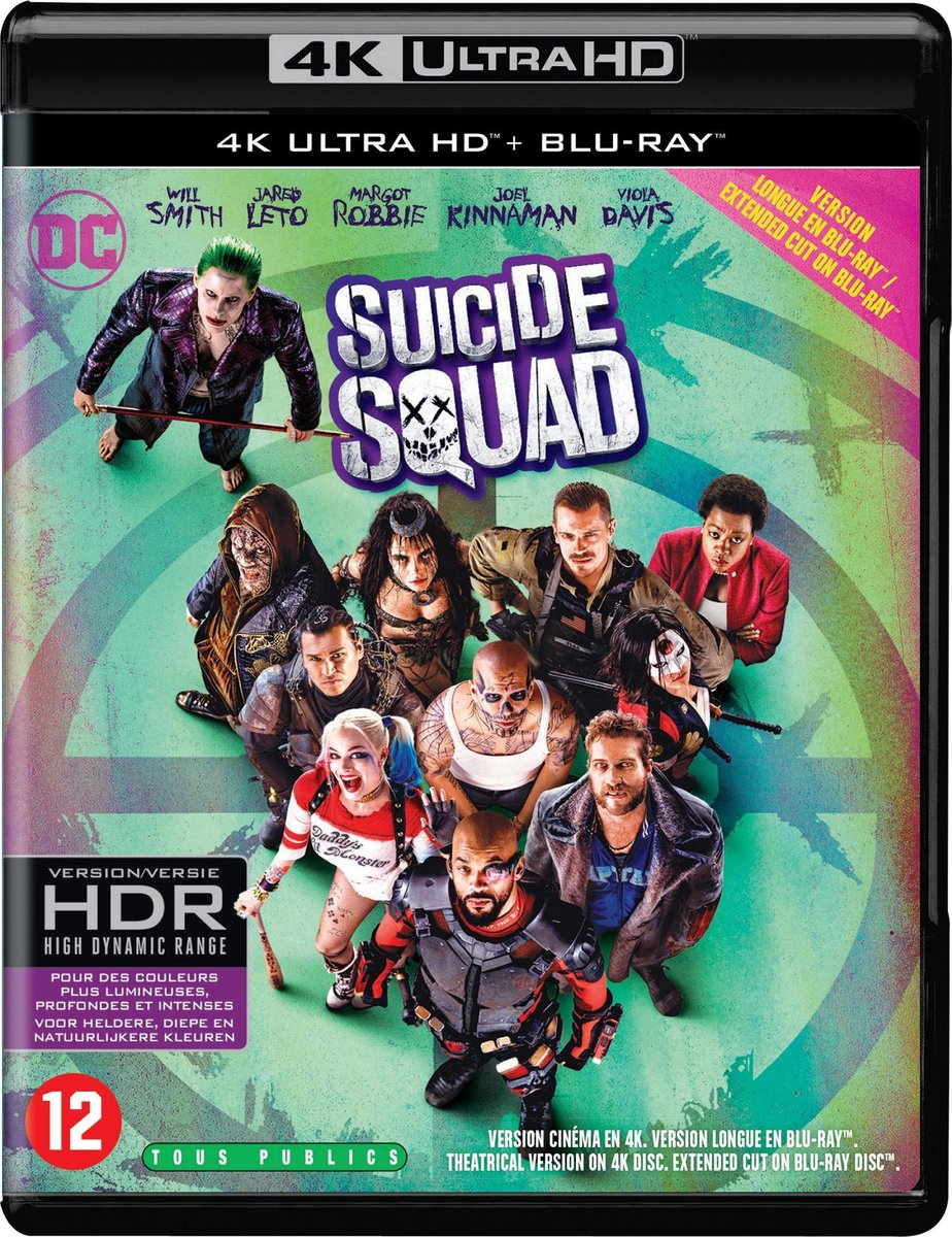 Suicide Squad (4K Ultra HD Blu-ray)-