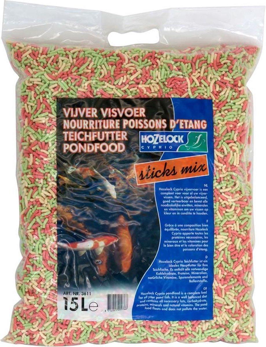 Hozelock Visvoer Sticks mix 15liter