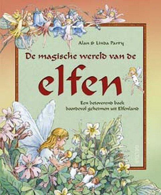 Cover van het boek 'De magische wereld van de elfen' van Linda Parry en Alan Parry