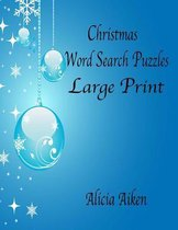 Christmas Word Search Puzzles Large Print