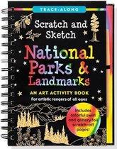 Scratch & Sketch National Parks (Trace-Along)