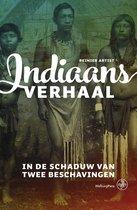 Boek cover Indiaans verhaal van Reinier Artist