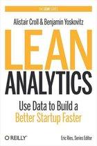 Boek cover Lean Analytics van Alistair Croll (Onbekend)