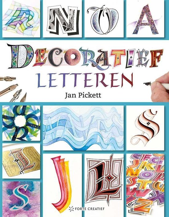 Decoratief letteren - Jan Pickett |