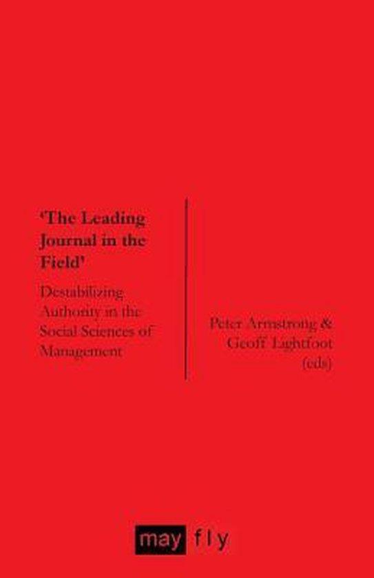 Boek cover The Leading Journal in the Field van Norman Jackson (Paperback)