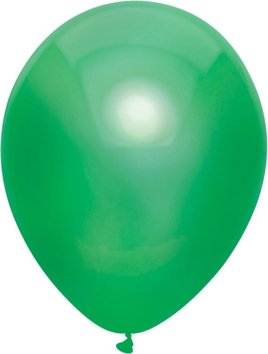 Ballonnen Metallic Donkergroen (10ST)