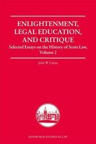 Enlightenment, Legal Education, and Critique