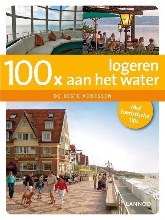 Cover van het boek '100x logeren aan het water' van Georges Gielen