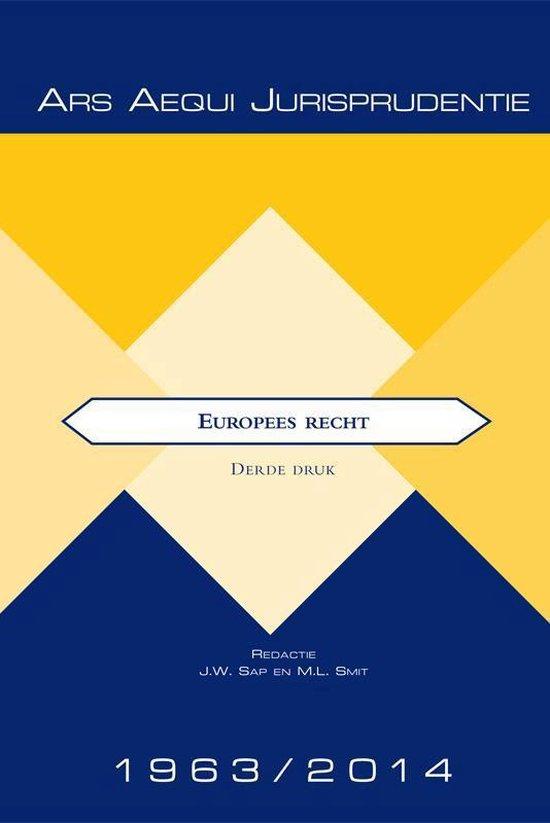 Jurisprudentie Europees recht 1963-2014 - none |