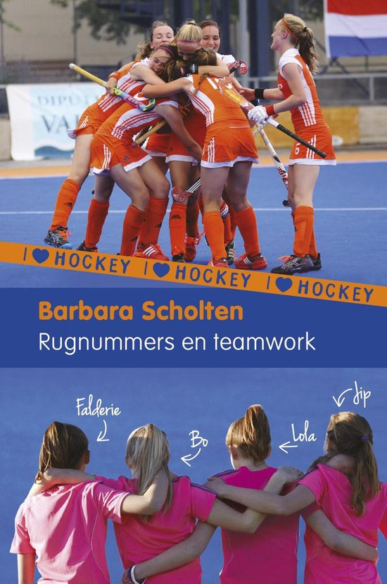 I Love Hockey 6 - Rugnummers en teamwork - Barbara Scholten |
