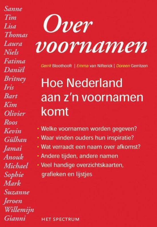Over Voornamen - Gerrit Bloothooft pdf epub