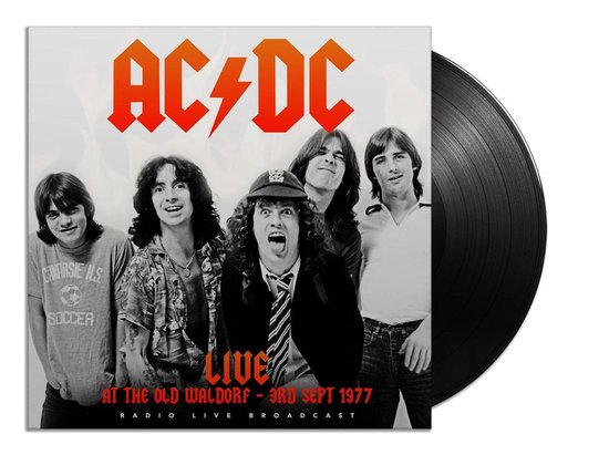 CD cover van Live At The Old Waldorf 1977 (LP) van AC/DC