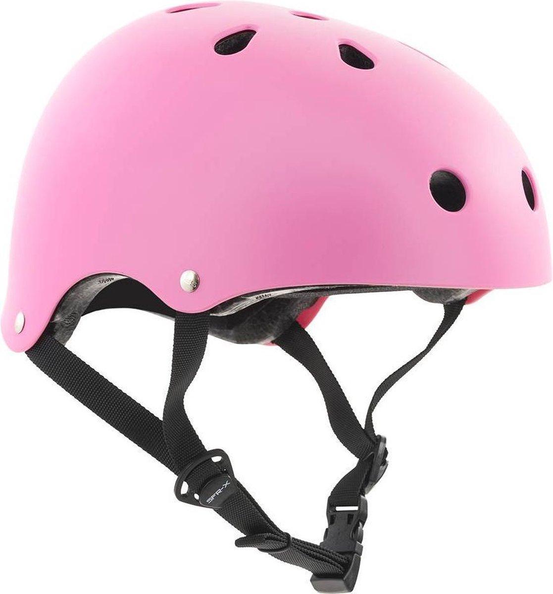 SFR Essentials Skate/BMX helm Helm - UnisexKinderen en volwassenen - roze Maat S/M: 53-56cm