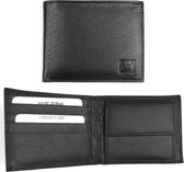 Businessme Billfold - Heren - Leer - Zwart