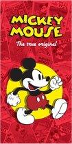 Disney Mickey Mouse The True Original - Strandlaken - 75 x 150 cm - Multi