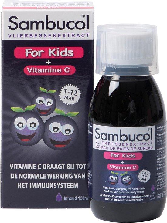 Sambucol Vlierbessen Siroop For Kids - 120 ml