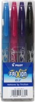 Frixion BL-FR7 rollerball assorti FUN – 4 stuks (l.blauw, roze, violet en bruin)