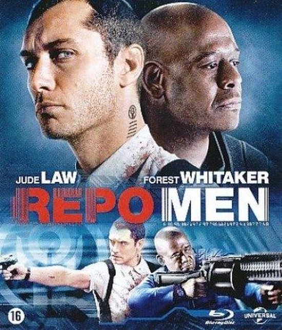 Cover van de film 'Repo Men'