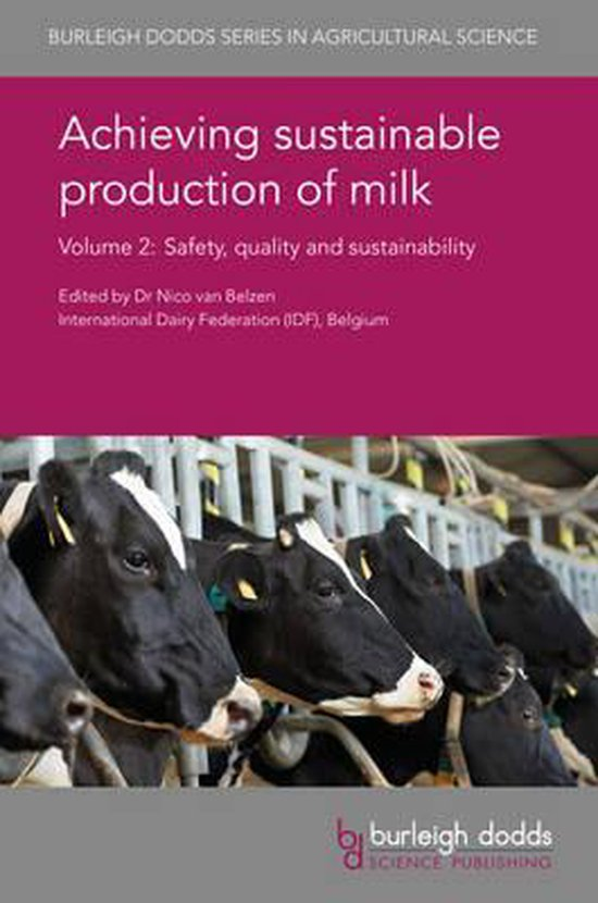 Boek cover Achieving Sustainable Production of Milk Volume 2 van Sabine Cardoen (Hardcover)
