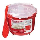 Sistema Microwave Rijstkoker - 2.6 l rood