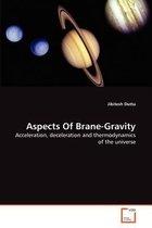 Aspects of Brane-Gravity
