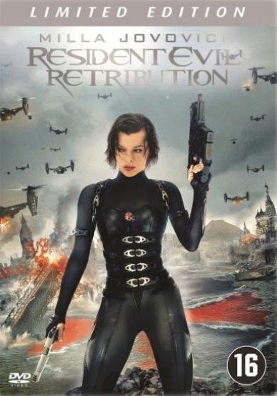 Cover van de film 'Resident Evil - Retribution'