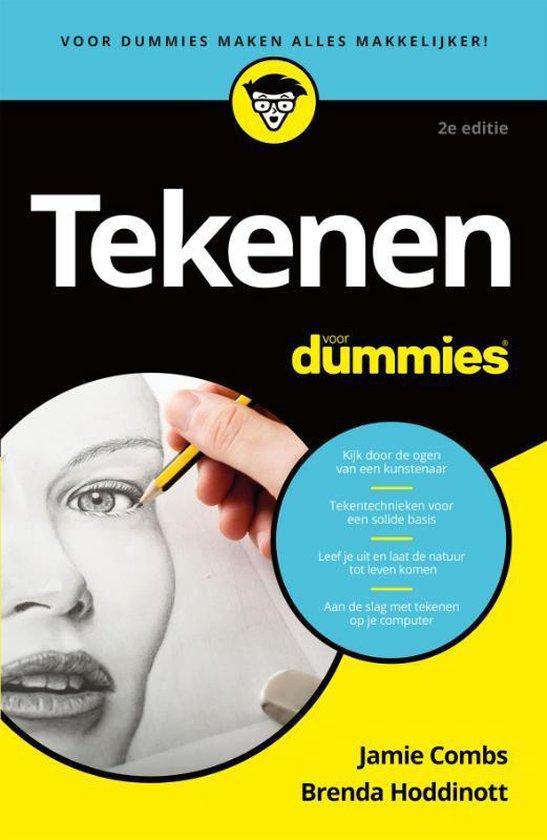Boek cover Tekenen voor Dummies, 2e editie, pocketeditie van Jamie Combs (Paperback)