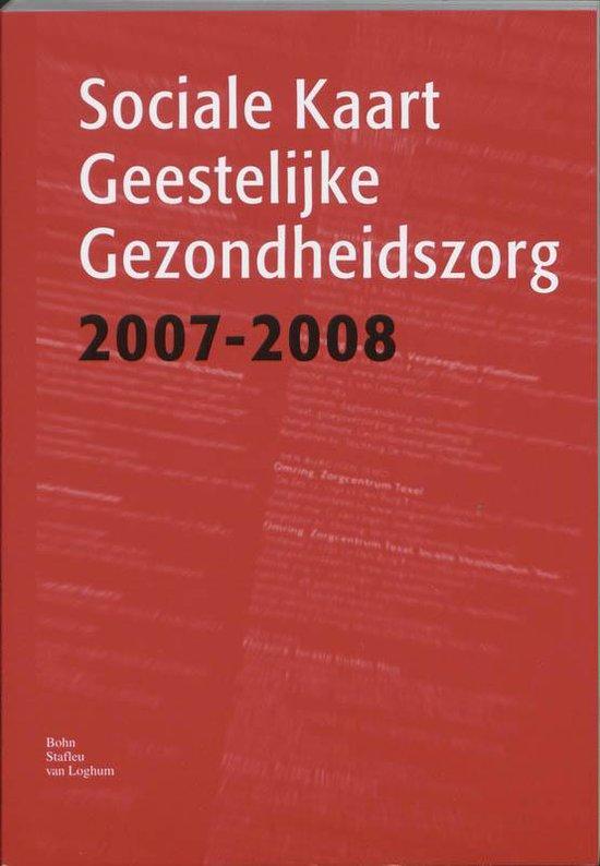 Sociale kaart Geestelijk Gezondheidszorg / 2007-2008 - none |