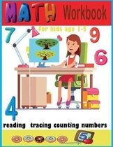 Math Workbook for Kids Age 1-5 Reading Tracing Counting Numbers