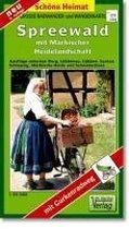 Spreewald mit Märkischer Heidelandschaft 1 : 35 000. Grosse Radwander- und Wanderkarte