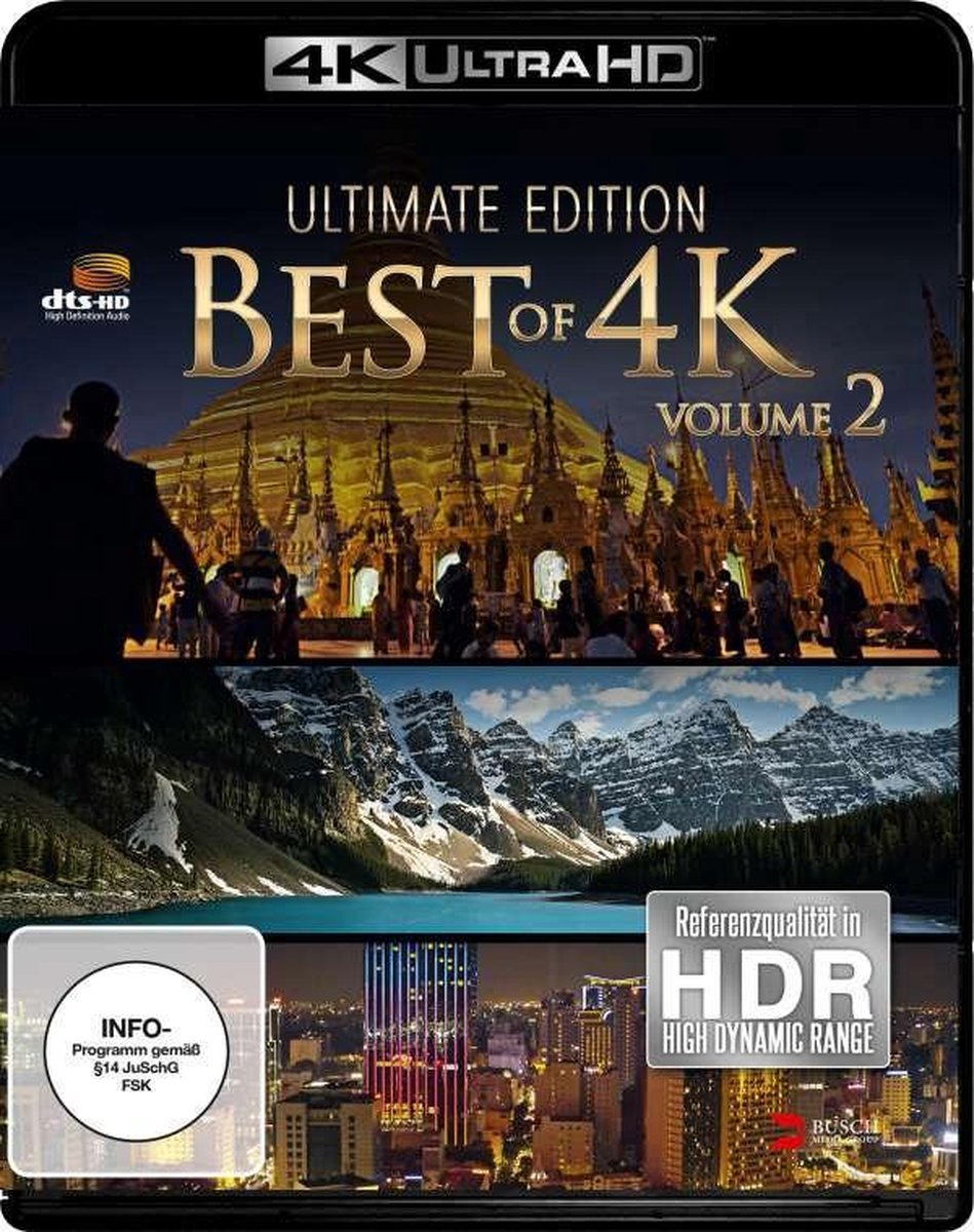 Best of 4K - Ultimate Edition 2 (4K UHD)-