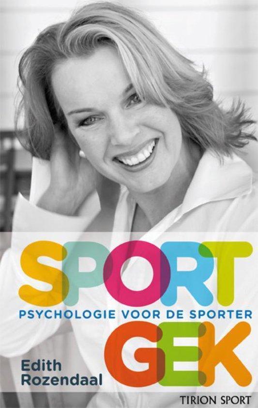 Boek cover Sportgek van Edith Rozendaal (Paperback)