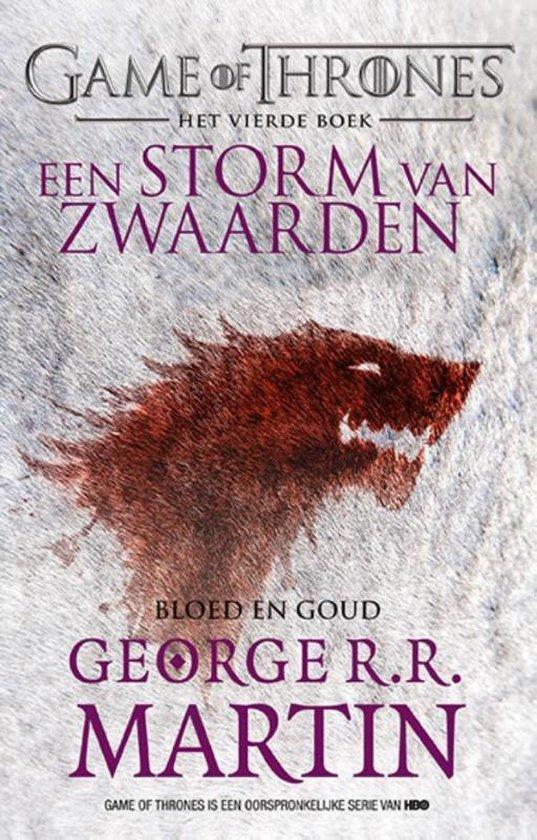 Game of Thrones 4 - Een storm van zwaarden Bloed en goud - George R.R. Martin |