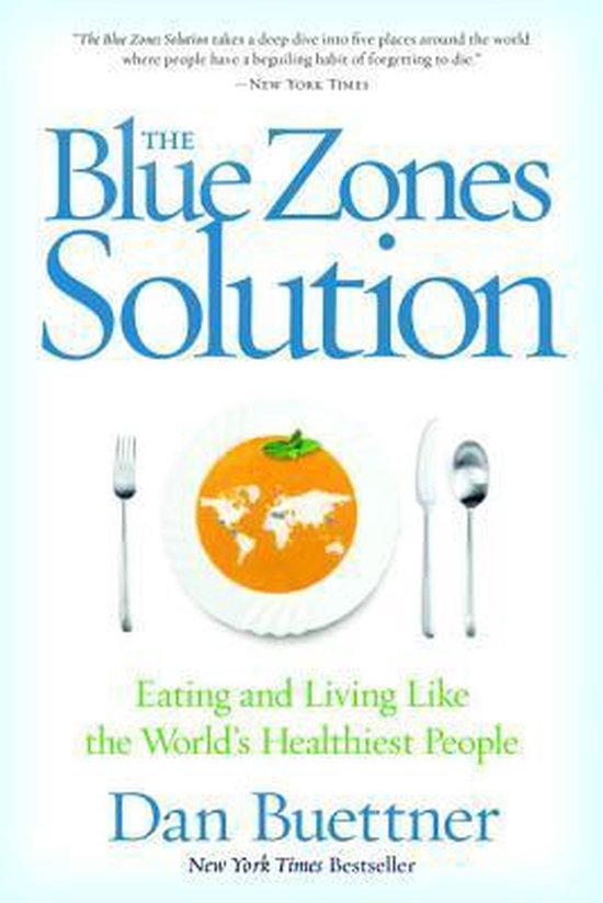 Boek cover Blue Zones Solution van Dan Buettner (Paperback)