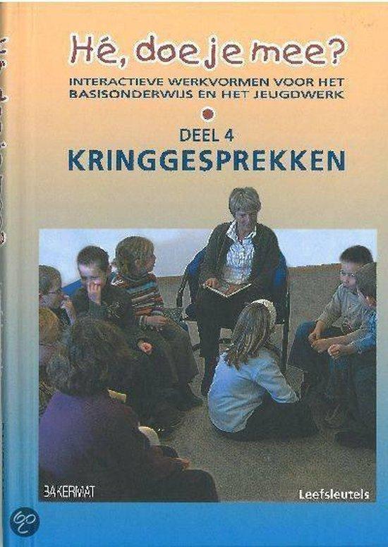 Cover van het boek 'He doe je mee kringgesprekken'